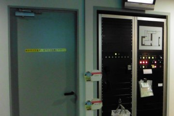 <p>Behind that door is the scary Smoke Maze section</p>