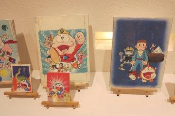 <p>哆啦A梦明信片和海报,海报有点贵</p>