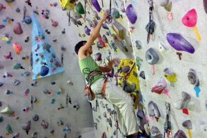 Rock climbing is a bit more challenging, but you can rest part of the way up