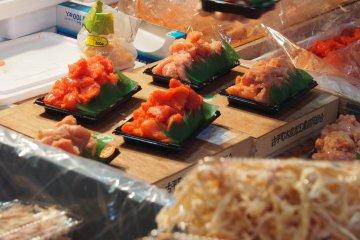 The Stalls of Tsukiji Fish Market