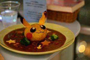 ข้าวแกงกระหรี่ปีกาจู