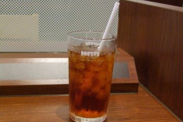 <p>A cool drink on a hot day</p>