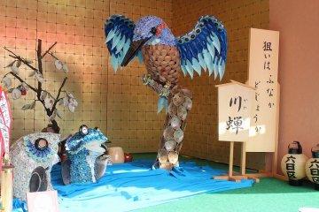 福井「金津祭・本陣飾り物」