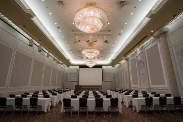 <p>The banquet hall for your meeting or wedding party</p>