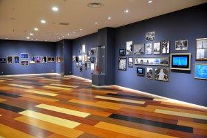 Public gallery showcasing Tokyo Tower of yesteryears