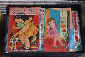 Old fashioned children's books & magazines