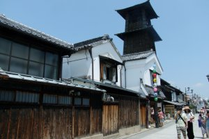 The Bell Tower is the symbol of Kawagoe