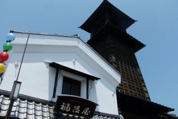 <p>The tower has been telling time in Kawagoe for over 300 years</p>