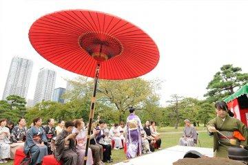 Grande cérémonie de thé, Tokyo 2014
