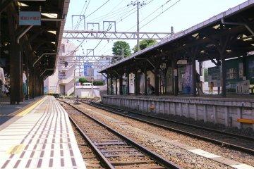 <p>江之岛站台看出去的风景</p>
