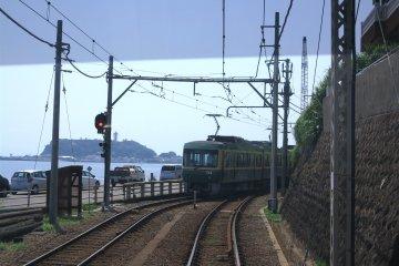 <p>坐在江之电上看到的风景</p>