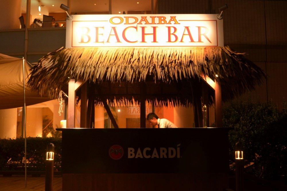 Odaiba Beach Bar