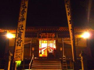 Kuil Hayachine ini terletak di kaki Gunung Hayachine