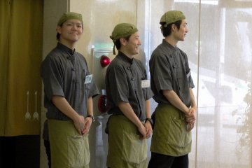 <p>Cheerful, congenial, always-smiling staff of the hotel</p>