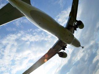 Planes loomed overhead