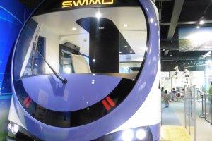 SWIMO, a low-floor battery-powered light rail vehicle
