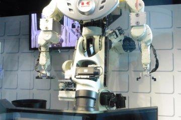 <p>An impressive robot demonstration</p>
