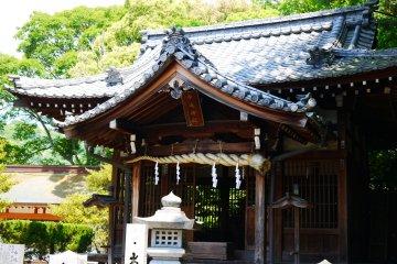 <p>某神社?!</p>