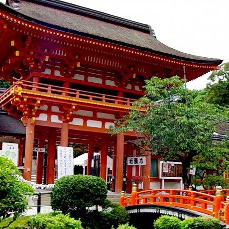Kamigamo Shrine in Summer