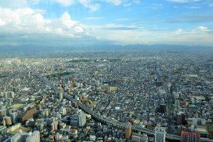 View of Osaka Plain
