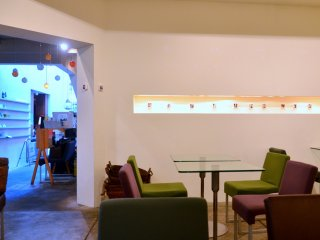 Interior of Prinz Cafe and Gallery