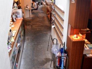 Interior of Prinz Cafe