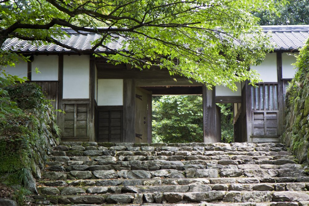 Nagayamon was the gate built next to the plum (ume) gardens, along the horse riding grounds