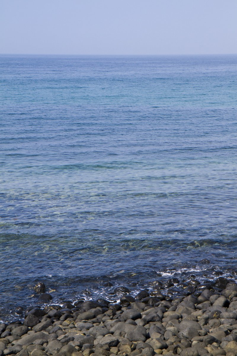 <p>Many shades of blue in the Genkai-Nada&nbsp;Sea to ponder</p>