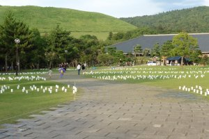 Le jardin d'Ukigumo-enji dans l'après-midi