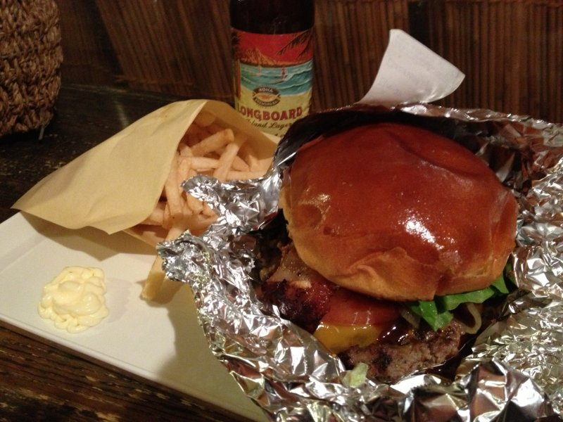 <p>A soft and glossy bun houses a carnivore&#39;s delight</p>