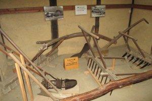 Farm tools from the Edo period