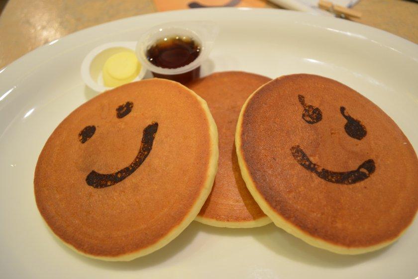 แพนเค้กหน้ายอ้งแห่งร้าน Pancake Days ในย่าน Kichijoji จะทำให้วันธรรมดาของคุณกลายเป็นวันที่สดใส