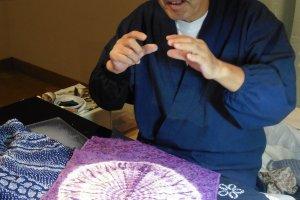 Les artisans sont disponibles pour expliquer en quoi consiste leur travail