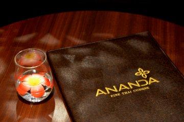 <p>Menu of Ananda Thai&nbsp;</p>