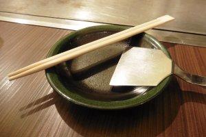 Les armes dont vous aurez besoin pour vous attaquer à un okonomiyaki
