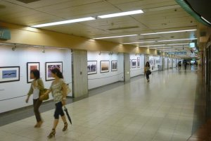 Central Gallery, part of the Central Park underground shopping mall, Nagoya.