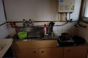 มีห้องครัวสำหรับคนอยากทำอาหารกินเอง