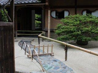 催事の時にはこの玄関が開けられる