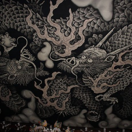 京都「建仁寺」の龍