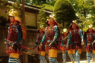 Nikko's 1000 Samurai Procession