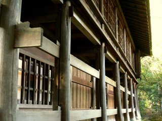 Wooden buildings age beautifully