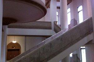 The Escher-like staircase
