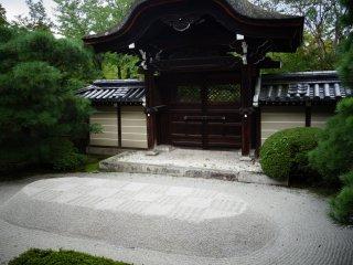 มีสวนหินเหมือนวัด zen อื่นๆ
