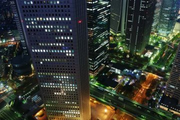 <p>View from the Tokyo Metropolitan Building observatory. Photo by (c)Tomo.Yun</p>
