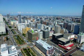 <p>Sapporo&#39;s north district</p>