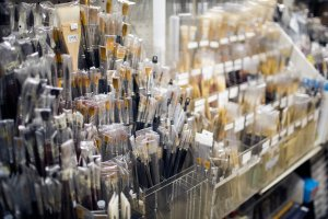 Lapis Design & Art Supply stocks a variety of brushes for different purposes, including a wide variety for painting with inks