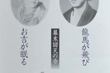 <p>A ticket for the Okichi Memorial Hall</p>