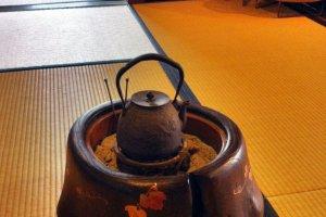 Inside Taiya Restaurant