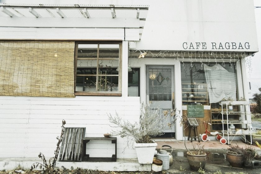 Outside Cafe Ragbag