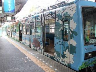 叡山鉄道で鞍馬へ向かう